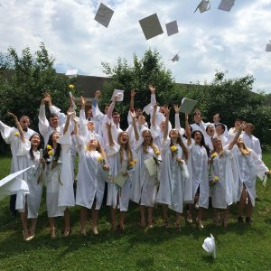 graduating Maharishi school with core values