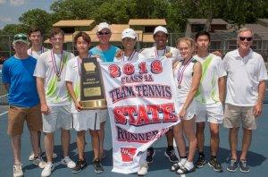 maharishi school tennis champions