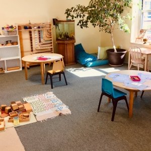 montessori classroom at maharishi school