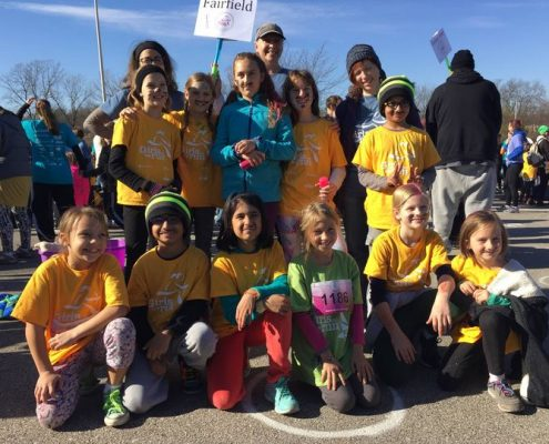 Girls on the Run and Heart and Sole are once again being offered at Maharishi School. Maharishi School is a private day and boarding school in Fairfield, Iowa that offers a mix of single sex and mixed gender classroom settings for a well rounded experience for all students.