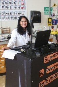 asha sharma science