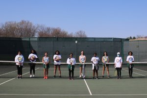 pioneer girls tennis team