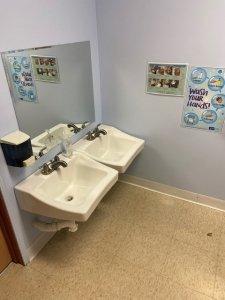 hand washing maharishi school coronavirus