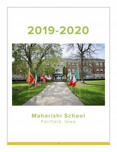 front of maharishi school 2020