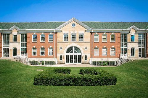 Maharishi School Hobson Hall back