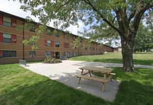 boarding school Dorms Exterior