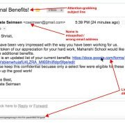 Phishing Email Red Flags