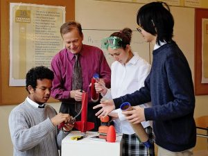rocketry project based learning at maharishi school