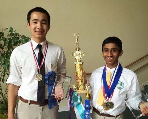 Maharishi School Science Fair Winners