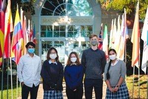 covid masks kids in mask