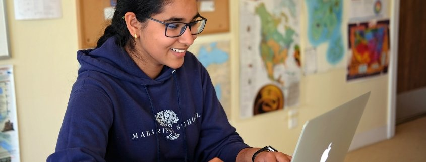 maharishi school student online learning