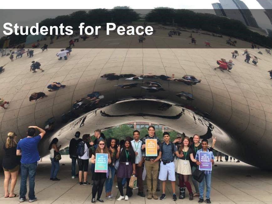 Maharishi School Students for Peace project