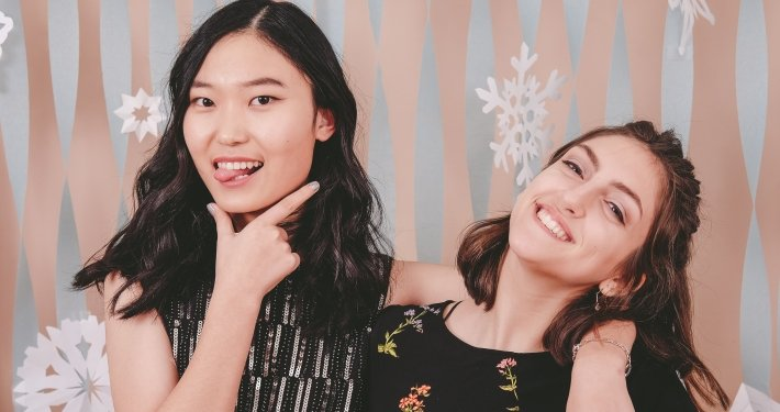 Winter Formal Girls