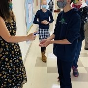 sanitize hands students 2020 coronavirus