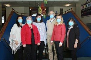 leadership team covid masks