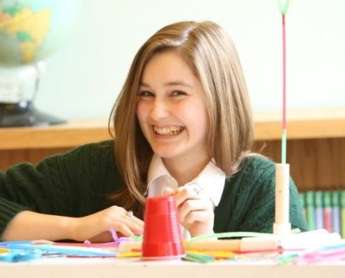 Maharishi School is a private day and boarding school in the Midwest, in Fairfield, Iowa. Students, staff, and faculty practice Transcendental Meditation to reduce stress and promote academic success.