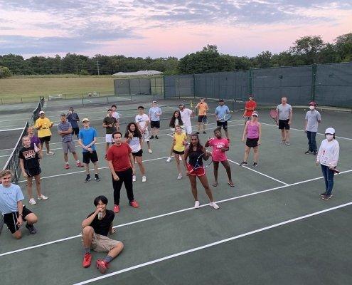 maharishi school tennis