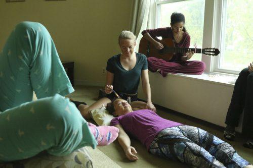Maharishi School retreat time