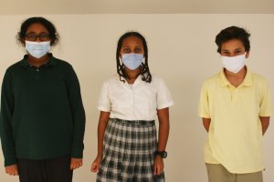 middle school pandemic mask